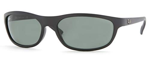 Ray Ban Predator RB4114 Sunglasses - 601S71 Matte Black/Greygreen - 62mm for ()