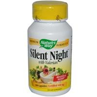 Natures Way Silent Night with Valerian 100 Capsules