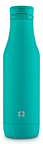 Ello Riley Vacuum Insulated Stainless Steel Water Bottle with Removable Base| 18 oz | ()
