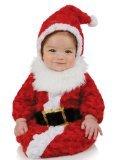 Underwraps Santa Costume (Underwraps Baby Santa Bunting, Red/White, Infant)