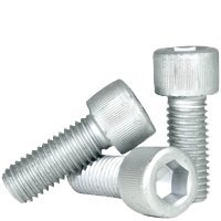 Socket Head Cap Screw, DIN 912, M12-1.75 x 20mm, Alloy Steel Metric Class 12.9, Zinc, Hex Socket (Quantity: 50) Coarse Thread, M12 Hexagonal Allen Bolt, Length: 20mm, Full Thread