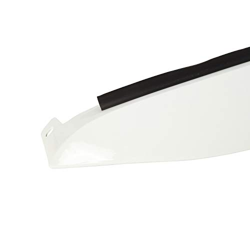 Rugged Ridge 12034.41PW7 Bright White Nighthawk Brow