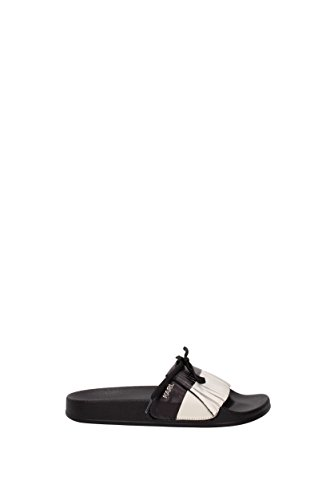 Slippers and clogs Karl Lagerfeld Women - Leather (71KW4026) UK Black