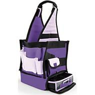 Tote, Ally Cool Tote 10Wx20H: Purple/Purple All My Memories