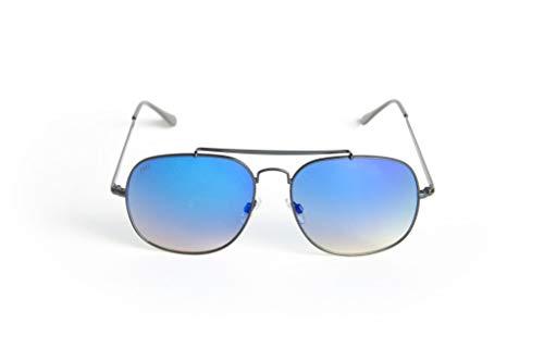 The Ever Collection Men Sunglasses Model: Entourage - Blk/Atlantic ()