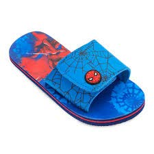 22a27fa90148f Image Unavailable. Image not available for. Color  Shop Disney Marvel  Spider-Man Sandals Flip Flops For Kids - Beach Pool ...