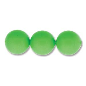 Swarovski Elements Crystal Pearl Beads 5810 8mm NEON GREEN (50)
