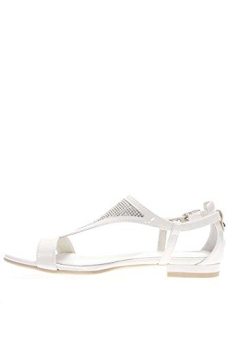 Nero Giardini - Sandalia de mujer - Cómoda y elegante sandalia baja - Color blanco blanco