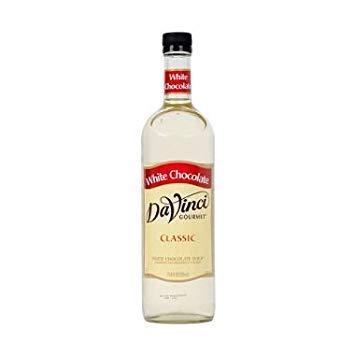- DaVinci Gourmet White Chocolate Beverage Syrup (750 ml) -3 PACKS