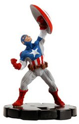 Heroclix Miniature - Marvel Heroclix Ultimates Captain America Experienced