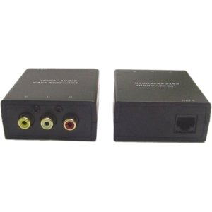 Calrad Electronics Small. Compact Audio. Video Balun . 1 Input Device . 1 Output Device . 1000 Ft Range . 2 X Network (Rj. 45)