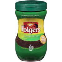 Folgers Classic Decaf Instant Coffee 8 oz (Pack of 12)