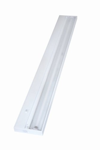 Juno Lighting Group UPF46-WH Pro-Series Fluorescent Under cabinet Fixture, 46-Inch, 8-Lamp, Designer White by Juno