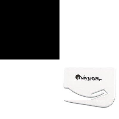 KITPREWRA1711SPUNV31803 - Value Kit - Martin Yale Folding Machine Survival Kit For Models 1611/1711 (PREWRA1711SP) and Universal Letter Slitter Hand Letter Opener w/Concealed Blade (UNV31803) by MARTIN YALE