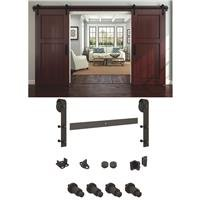 National Mfg. - National Rustic Barn Door Hardware Kit by National Mfg.