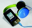 B Calm 250107 EX Auditory Listening System, Includes 2 Pairs of Headphones, USB Cable, Case, CD and Pictures