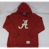 Official NCAA Alabama Crimson Tide Football Team, Red, Ladies Cut,, Hooded Sweatshirt (Adult 3 X-Largel)