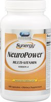 Vitacost Synergy NeuroPower Multi-Vitamin — 180 Capsules For Sale