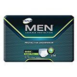 Super Plus Absorbency Underwear (TENA® Men™ Super Plus Absorbency Protective Underwear, XL 44