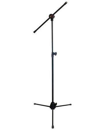 Pedestal Para Microfone Com Regulagem Saty Pmg10