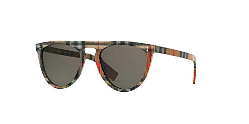 Burberry Men's 0BE4281 Vintage Check/Brown One Size (Burberry Sonnenbrillen Damen)