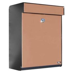 (Qualarc ALX -GRM-BC Allux Series MailBoxes Grandform, Black/Copper)