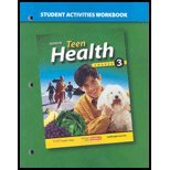 Teen Health, Course 3, Student Activities Workbook by McGraw-Hill [Glencoe/McGraw-Hill,2006] [Paperback]
