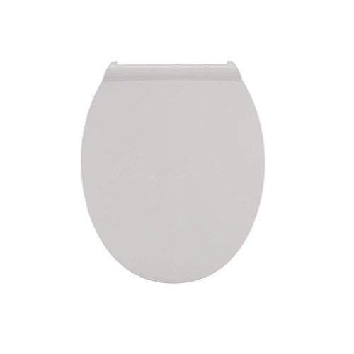 American Standard Fluent Round Slow Close Front Toilet Seat in White