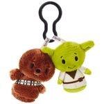 Star Wars Chewbacca and Yoda itty bittys Clippys Stuffed Animals Itty Bittys Movies & TV; Sci-Fi