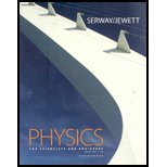 Physics for Scientists and Engineers, Serway, Raymond A. and Jewett, John W., 0495112364