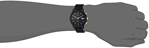 Lacoste Men's TR90 Quartz Watch with Rubber Strap, Black, 21 (Model: 2011012) 3
