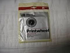 Smith Corona H 59535 Printwheel Tempo 10 Single Pack Daisywheel