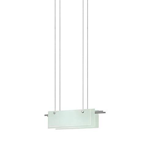 13 Sonneman Suspended Glass - Sonneman 3216-13LED LED Pendant, Silver
