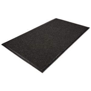 Millennium Mat Company WaterGuard Wiper Scraper Indoor Mat, 36 x 60, Charcoal (5 Units)
