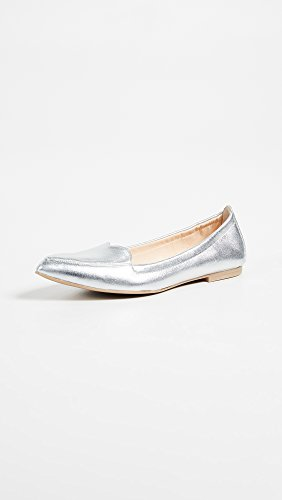 Isa Tapia Womens Flats Argent
