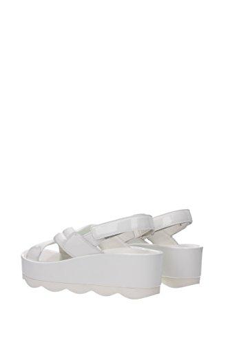 Sandali Prada Donna - Tessuto (3xz239) Eu Bianco