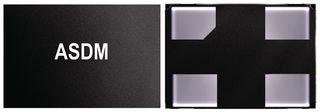ASDM1-24.000MHZ-LC-T-Mems Oscillator, Clock, Pure Silicon™, 24 MHz, SMD, 2.5mm x 2mm, 50 ppm, 3.3 V, ASDM Series, CMOS (10 Pieces)