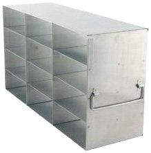 Alkali Scientific UF-342 Stainless Steel Cryostorage Box Rack for 2