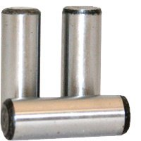 1/4''x1 1/8'' DOWEL PINS | THRU-HARDENED | ALLOY | PLAIN FINISH | INCH | (QUANTITY: 100) by Jet Fitting & Supply Corp