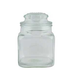 Cvr Glass (GLASS JAR/CVR FNTN SQ 36Z, CS 4/EA, 07-0986 ANCHOR HOCKING CORP. TABLETOP)