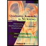 Qualitative Research in Nursing : Advancing the Humanistic Imperative, Streubert, Helen J. and Carpenter, Dona Rinaldi, 0781734835