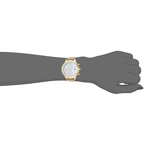 Citizen Women's 'Chandler' Quartz Stainless Steel Watch, Color:Beige (Model: FB2002-08D)