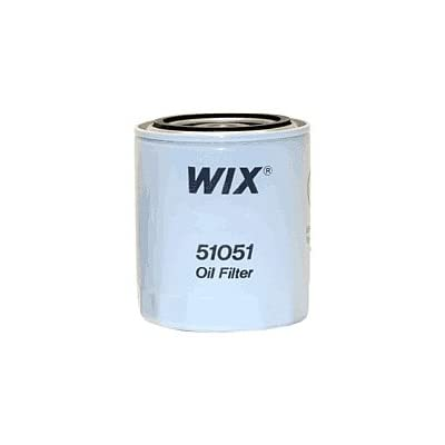 WIX Filters - 51051 Heavy Duty Spin-On Lube Filter, Pack of 1: Automotive