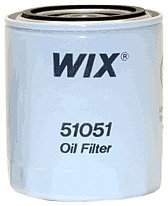 WIX Filters - 51051 Heavy Duty Spin-On Lube Filter, Pack of 1