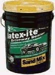 DALTON ENTERPRISES 42801 Latex-Ite Rubberized Sand Mix Driveway Coating, 5 (Asphalt Driveway Coating)