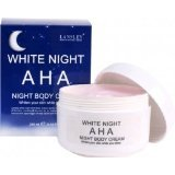 New Lansley AHA White Night Body Creme Review