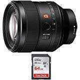 Sony FE 85mm f/1.4 GM Lens & 64 GB SD Card