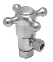 Weathered Copper Angle - Mountain Plumbing MT4003X-NL-WCP Weathered Copper Universal Cross Handle Angle Valve