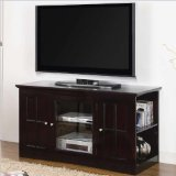 Coaster Home Furnishings 700657 Casual TV Console, Black Review