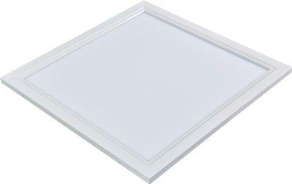 42 Bright White Flat - Inti Lighting 2'x2' Dimmable 42 Watt LED Flat Panel Light 3000K Bright White